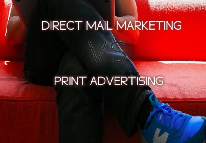 flyer distribution direct mail marketing versus print advertising